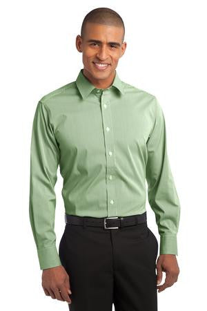 S647 - Fine Stripe Stretch Poplin Shirt