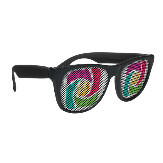 SG201 - LensTek Sunglasses (Solid Colors)