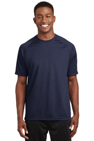 T473 - Dry Zone® Short Sleeve Raglan T-Shirt. T473.