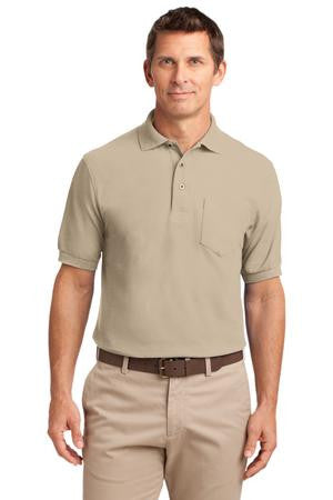 TLK500P - Tall Silk Touch™ Polo with Pocket