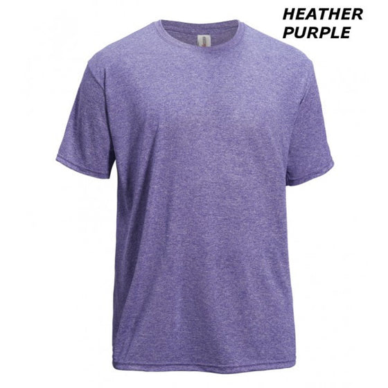 AF804 Men's Heather Performance Tee