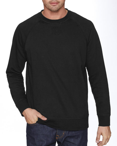 N9000 - Adult French Terry Raglan Crew