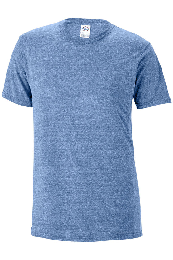 14600 - Adult 30/1's Snow Heather Tee