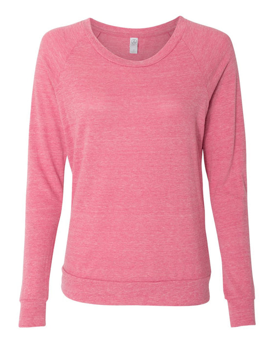 AA1990 - Ladies' Slouchy Eco-Jersey Pullover