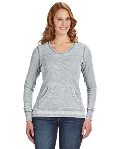 JA8255 - J America Ladies' Zen Thermal Long-Sleeve T-Shirt