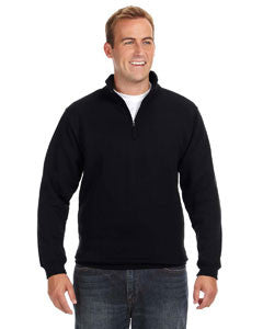 JA8634 - J America Adult Heavyweight Fleece Quarter-Zip
