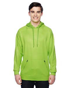 "JA8670 - J America Adult ""VOLT"" Poly Fleece Hood"