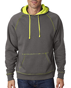 JA8883 - J America Adult Shadow Fleece Pullover Hood