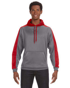 JA8973 - J America Adult Poly Fleece Sport Hood