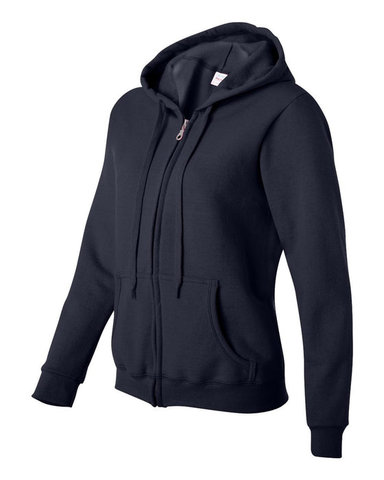 18600FL- Heavy Blend Women's Full-Zip Hooded Sweatshirt