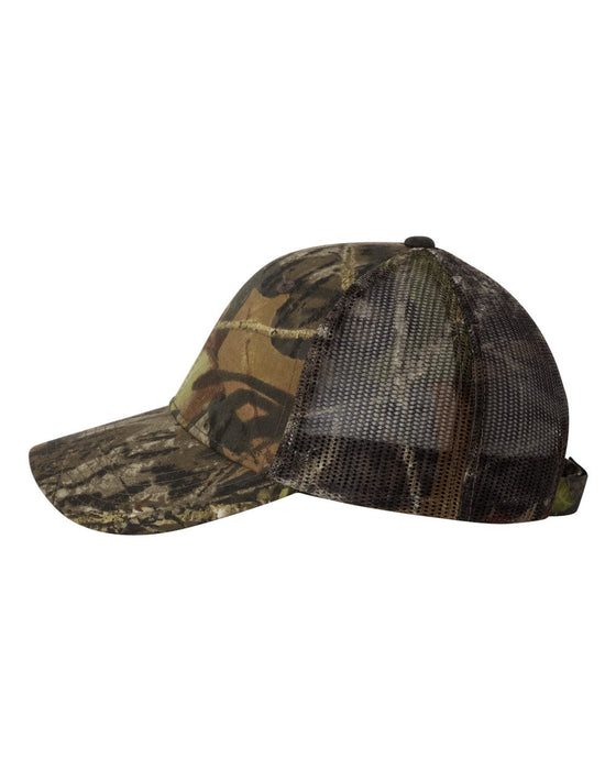 415PC - Value Mesh Camo Cap