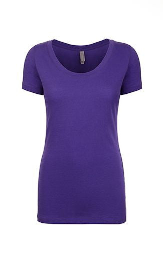 3530 - Ladies' The Scoop Tee