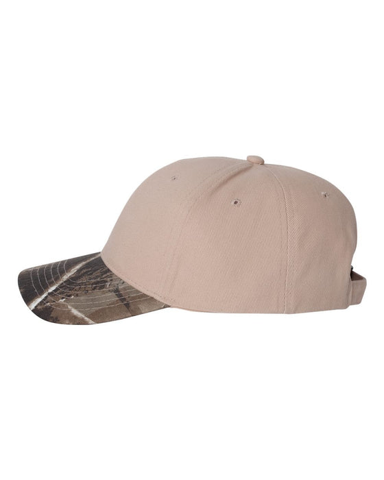 LC25- Solid Crown Camouflage Cap