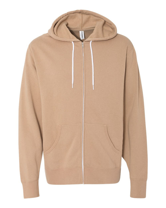 AFX90UNZ - Unisex Hooded Full-Zip Sweatshirt