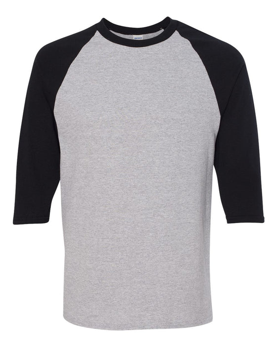 5700 - Heavy Cotton Three-Quarter Raglan Sleeve Baseball T-Shirt