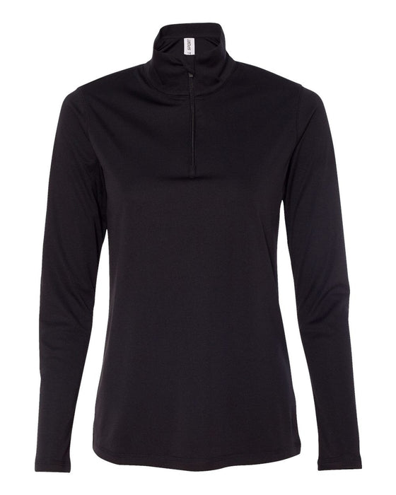 W3006 - Women's Quarter-Zip Lightweight Pullover