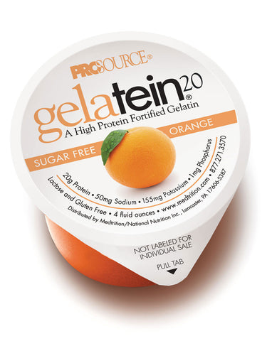 Gelatein20 - Orange Sugar Free (12 Units)