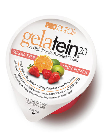 Gelatein20 - Fruit Punch - Sugar Free (12 Units)