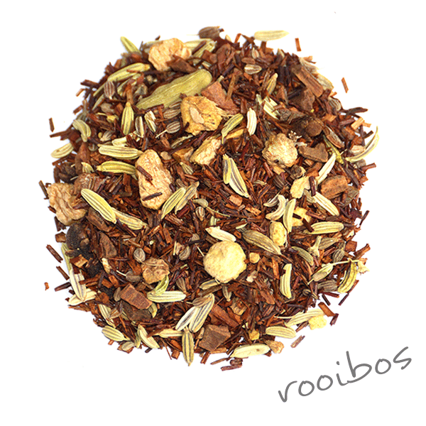 Loose leaf rooibos tea detox delight