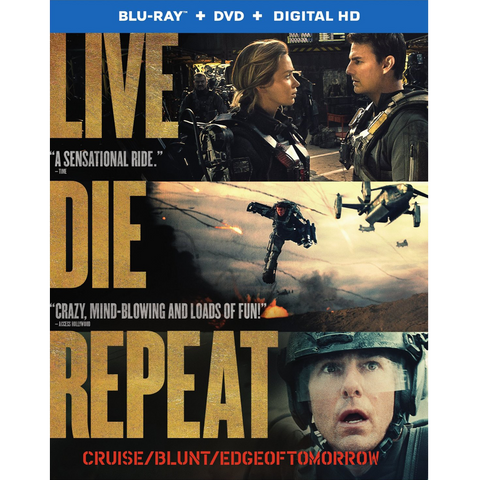 Live Die Repeat- Edge of Tomorrow