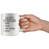 White 11oz Mug - Golfer's Instructions