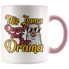 Accent Mug - This Llama Doesn't Want Your Drama