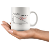 White 11oz Mug - Math Find X