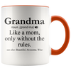 Accent Mug - Grandma Definition