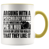 Accent Mug - Psychology Major Pig In Mud