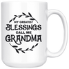 White Mugs - Blessings Grandma