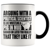 Accent Mug - Political Science Pig In Mud