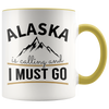 Accent Mug - Alaska Is Calling And I Must Go