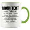Accent Mug - Architect Definition Mug