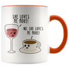 Accent Mug - Wine And Coffee