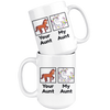 White 15oz Mug - Your Aunt My Aunt