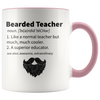 Accent Mug - Bearded Teacher Mug