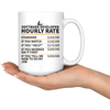 White Mugs - Software Developer Hourly Rate