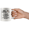 White 11oz Mug - Epic Coffee