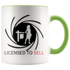 Accent Mug - Realtor Licensed To Sell