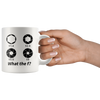 White 11oz Mug - Photography What The F