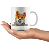 White 11oz Mug - Corgi Feeling Corgeous