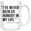 White Mugs - Never Been So Hungry Two Hours
