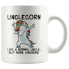 White 11oz Mug - Unclecorn