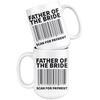 White 15oz Mug - Father of the Bride