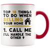 Custom Realtor 10 Accent Mug - Gold