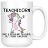 White 15oz Mug - Teachicorn