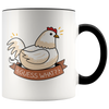 Accent Mug - Chicken Butt Mug