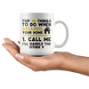 White 11oz Mug - Realtor Top Ten
