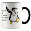 Accent Mug - Crazy Penguin Lady