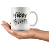 Mug - Music Happy Face Mug 11 oz